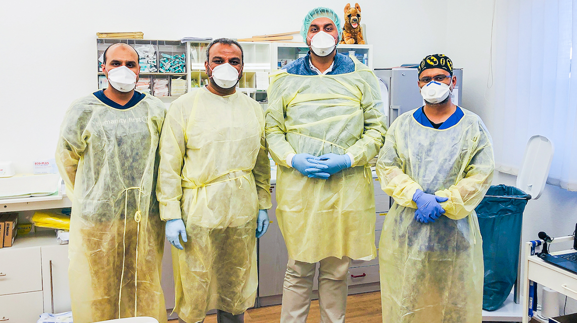 Coronavirus: Medizinische Hilfe in Thüringen