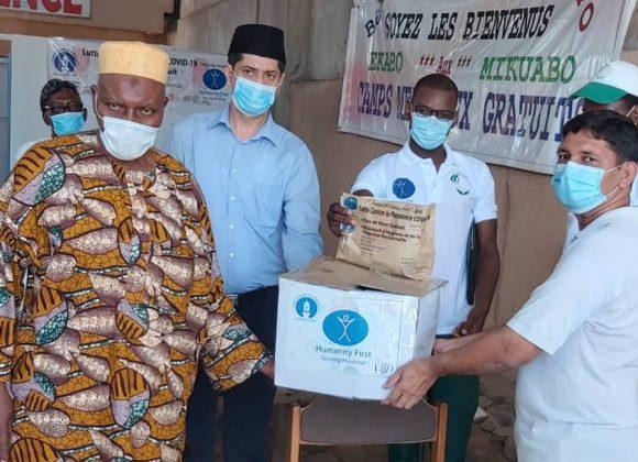 Lebensmittelverteilung Benin