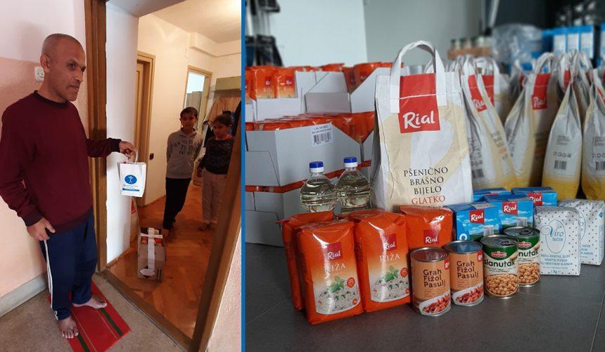 Unterstützung syrischer und irakischer Familien in Kroatien