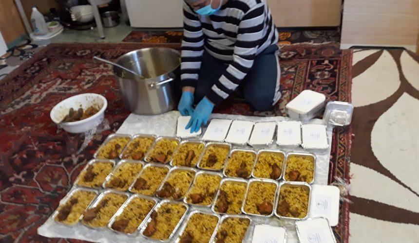 Warme Mahlzeiten im Asylheim