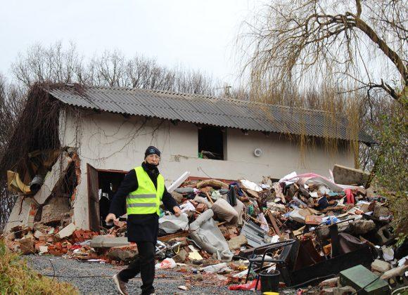 Katastrophenhilfe in Kroatien nach einem Erdbeben