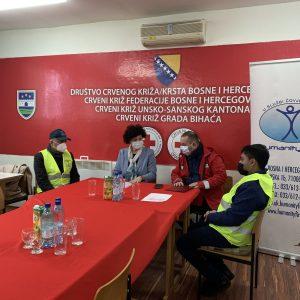 Katastrophenhilfe in Bosnien